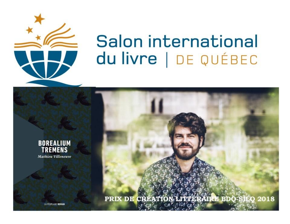 Mathieu Villeneuve, Agence littéraire Laëns