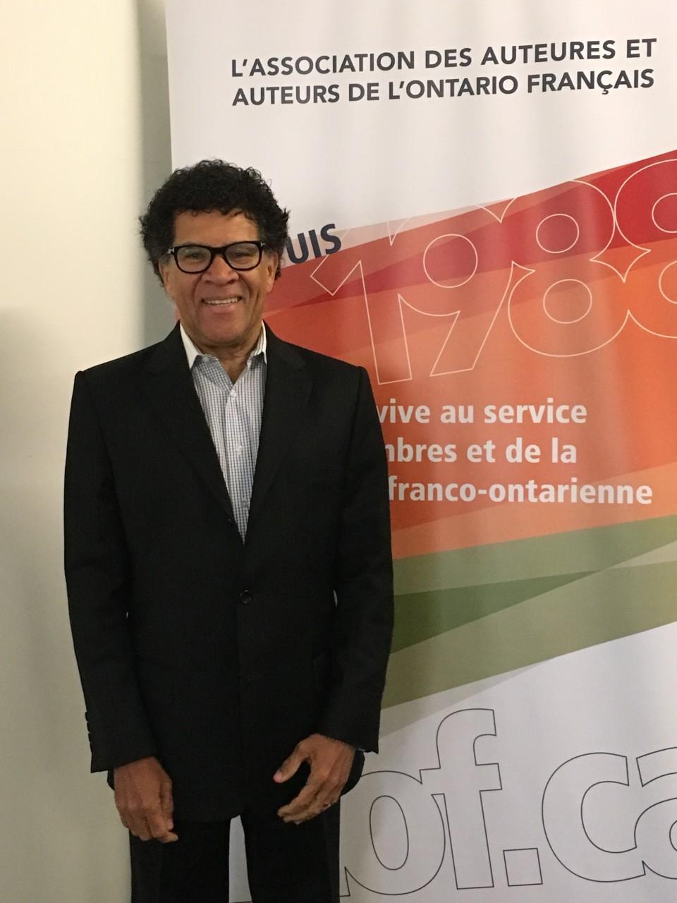 Gabriel Osson, président de l'AAOF