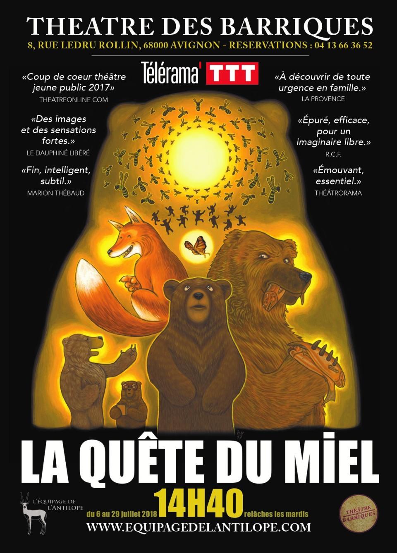 La quête du miel, Agence littéraire Laëns