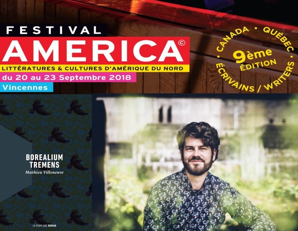 Mathieu Villeneuve au Festival America