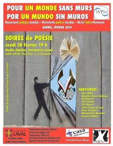 Affiche Mov. Poeìtico Mundial Qc